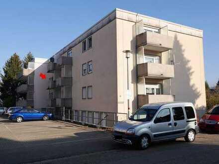 Einziehen oder Vermieten: Gepflegtes 1-Zi-Apartment im 2. OG mit Balkon, Ettlingen Stadt