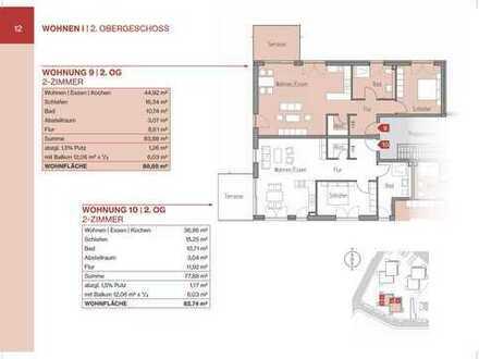 2-Zimmerwohnung mit Balkon und Lift (Whg 9)