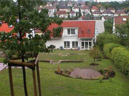 Exklusives Einfamilienhaus in traumhafter Lage unterhalb Killesberg auf 1.100 m² Hanggrundstück