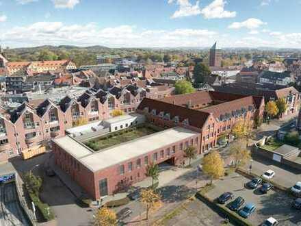 """Exklusive Büroflächen über den Dächern von Coesfeld; die """"Stille Post erwacht zum Leben"""""""