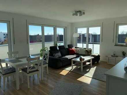 3-Zimmer-Penthouse-Wohnung mit großem Balkon und EBK in Ingolstadt
