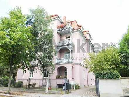 Ideal auch für Kapitalanleger, Etagenwohnung einer Stadtvilla in beliebter Wohnanlage!