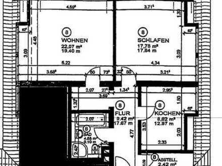 Sehr schöne 2 Zimmer Wohnung in ruhiger Lage