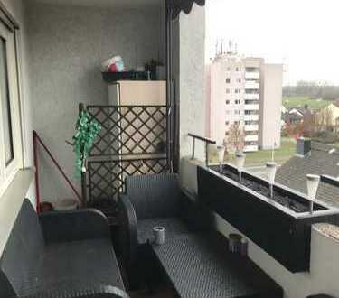 Geräumige und Warme 2-Zimmer-Wohnung mit Balkon in Darmstadt-Wixhausen
