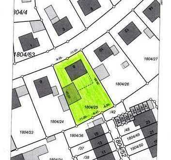 "Grundstück in Kaufbeuren - Neugablonz ""Bauträger aufgepasst"" 922 m²"