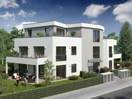Erstbezug: helle, ruhige 3-Z.EG mit Garten und großer Terrasse