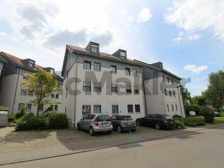 Kapitalanlage oder neues Zuhause: Gepflegte 4-Zi.-ETW mit Balkon im grünen Bad Saulgau