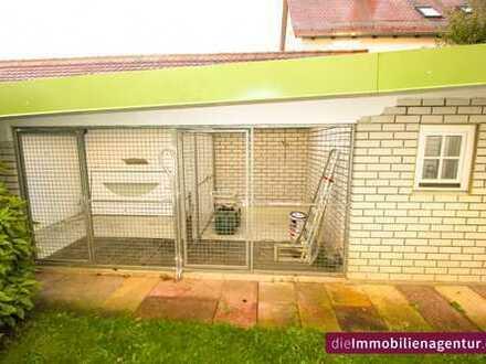 ***4-Zimmer-Gartenwohnung mit komfortabler Zwingeranlage für Züchter !!!***