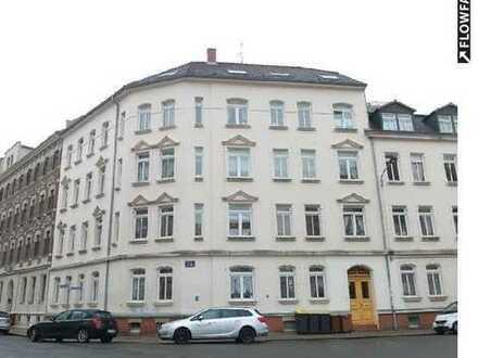 Große 3-Zimmerwohnung mit Wohnküche und Tageslichtbad in Leipzig-Kleinzschocher