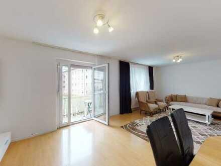 Schöne 4-Zimmer-Wohnung mit 2 Balkonen und viel Platz in Altbach