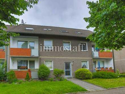 RUHIG & GEPFLEGT! Renovierte 2-Zimmer-Wohnung in Bottrop-Stadtmitte zu vermieten!