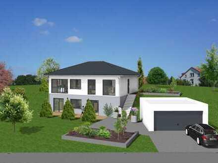 Doppelhäuser in idyllischer Randlage mit unverbaubarem Blick von Höchberg