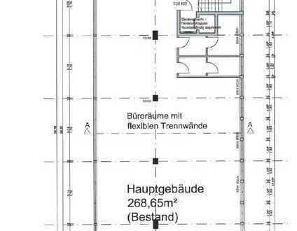 Büroflächen mit PKW-Stellplätzen in bester Innenstadtlage zu vermieten