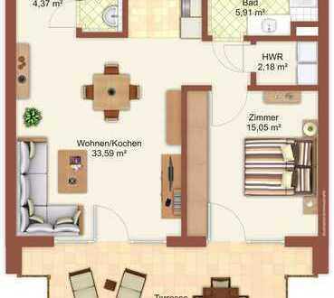 PORT MARINA 26: Neubau-Erstbezug - 2-Zimmer-Mietwohnung in großartiger Lage
