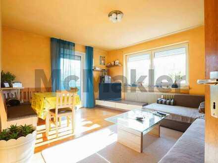 Gut geschnittene 2-Zimmer-Wohnung mit Balkon und Garage in Marktoberdorf