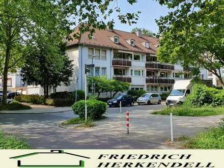 Haumannviertel + ruhige Lage + Erdgeschoss + 47m² Wohn-Esszimmer mit Parkett + TG möglich