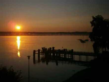 Starnberger See: 20 Meter vom Wasser - 20 km freier Blick über den See