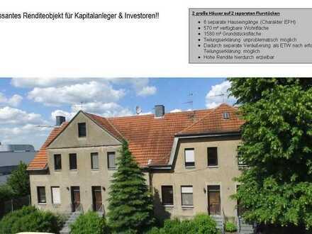 Provisionsfreies Mehrfamilienhaus mit 6 separaten Einheiten als Kapitalanlage.