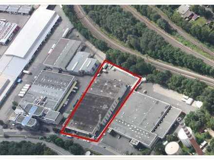 Lagerhalle in Nürnberg Langwasser auch für Hochregal geeignet