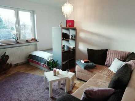 Schöne 1-Zimmer-Erdgeschosswohnung mit Terrasse und Einbauküche in Dußlingen