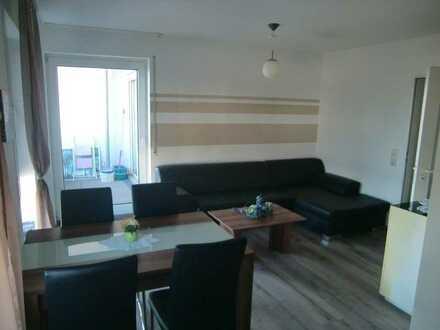 Helle teilmöblierte 2-Zimmerwohnung mit Balkon und TG-Stellplatz