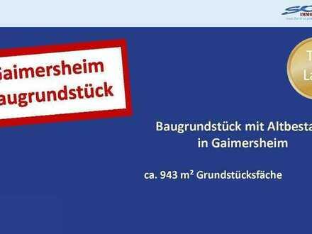 Neuzugang! Baugrundstück mit Altbestand in Gaimersheim - Ein Objekt von SOWA Immobilien & Finanze...