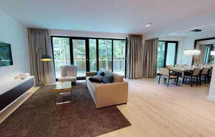 Luxusapartment im Erdgeschoss
