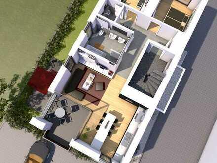 Erstbezug: 3-Zimmer-Wohnung im 1. OG mit Balkon in Elchingen