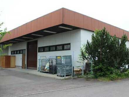Gewerbehalle mit Büro Lager Produktion Ausstellung