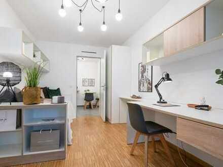 Sonnige 3-Zimmer-Wohnung mit Einbauküche und Balkon!