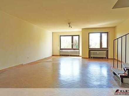 Für die Familie: Attraktive 4-Zimmer-Maisonette-Wohnung mit Gartenanteil und Tiefgaragenstellplatz