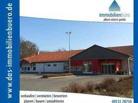SB-Marktfläche in attraktiver Lage im Bamberger Land mit 70 Stellplätzen