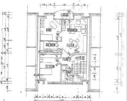 attraktive 3-Zimmer-Wohnung mit Balkon im 3-Familienhaus in Werne