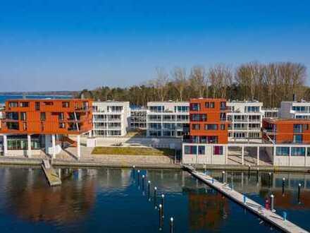 Wohnung mit Wintergarten und Hafenblick