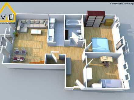 *WBS nötig* Ihre Zukunft - ihre Wohnung: günstig geschnittene 3 Zimmer mit Laminat