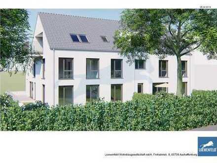 HAIBACH Ortsteil, Lichtdurchflutete Eigentumswohnung mit großem Balkon  NEUBAU Ideal für Frankfu
