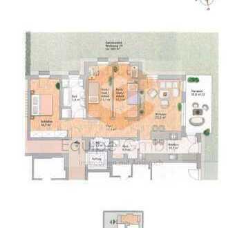 Stadtnah Wohnen & trotzdem das Kind im ca. 580 m²! Garten spielen lassen?