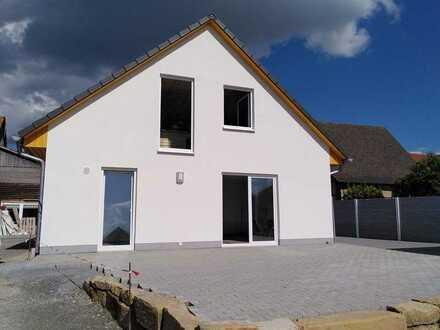 3-Zimmer-EG-Neubau Wohnung in Wülfershausen mit sehr schöner Lage