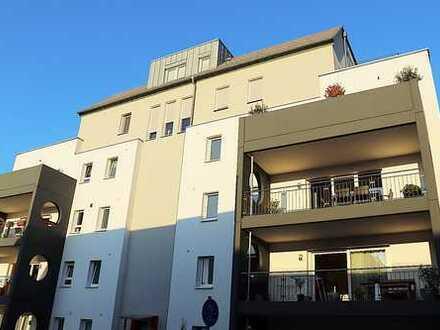 Exklusive Penthouse-Wohnung mit Rundblick über die Pfalz und die Rheinebene