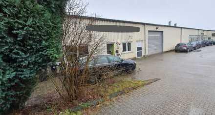 Gewerbehalle mit Büro, Wohnung und Außenlager auch als Kapitalanlage von privat