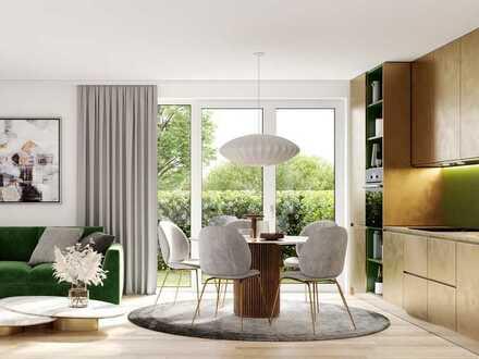 Am Puls von Stadt und Natur: 2-Zimmer-Wohnung mit optimalem Grundriss und Privatgarten in Harlaching