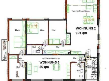 Schöne drei Zimmer Wohnung mit Balkon