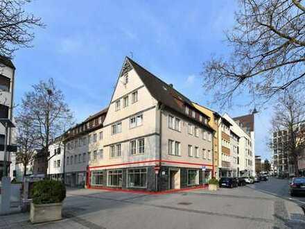Ulm Stadtmitte: Schöne und sehr gut geschnittene Büroeinheit, auch als Laden nutzbar!