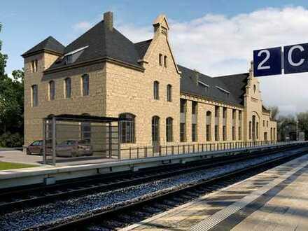 Gewerbeflächen im Bahnhof Apolda zu vermieten!