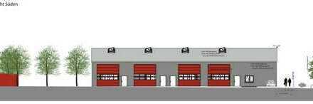 Neubau Gewerbehalle – vielseitig nutzbar, 150 - 300 m²
