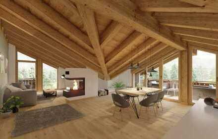 Direkt vom Bauträger: Dachgeschosswohnung der Extraklasse in Garmisch