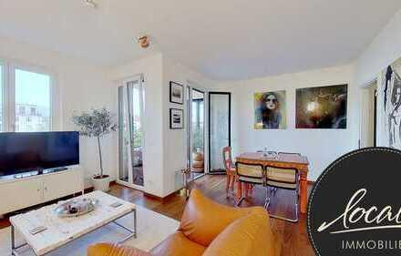 Modische & moderne 2-Zimmer-Wohnung mit Sonnenterrasse in perfekter Lage!