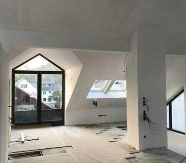 Erstbezug: Sehr helle Maisonette-Wohnung in ruhiger Lage mit Blick ins Grüne