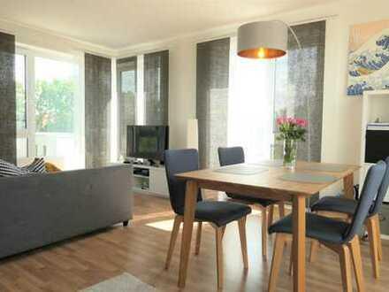 Beverbäker Wiesen - hochwertige 2 Zimmer mit Einbauküche und großer Dachterrasse