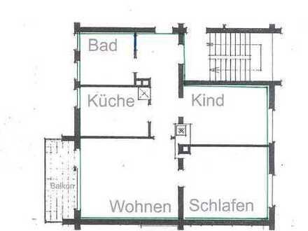 Renovierte 3 Zimmer Wohnung in der Singener Nordstadt